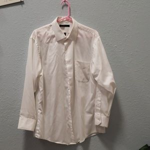 Mens Fitted Button Up